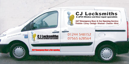 Emergency locksmith in Ruthin